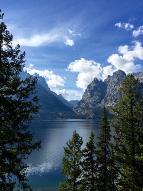 Jenny Lake in Teton National Park