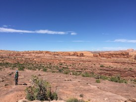 Red rock for miles - Captain Ahab trail