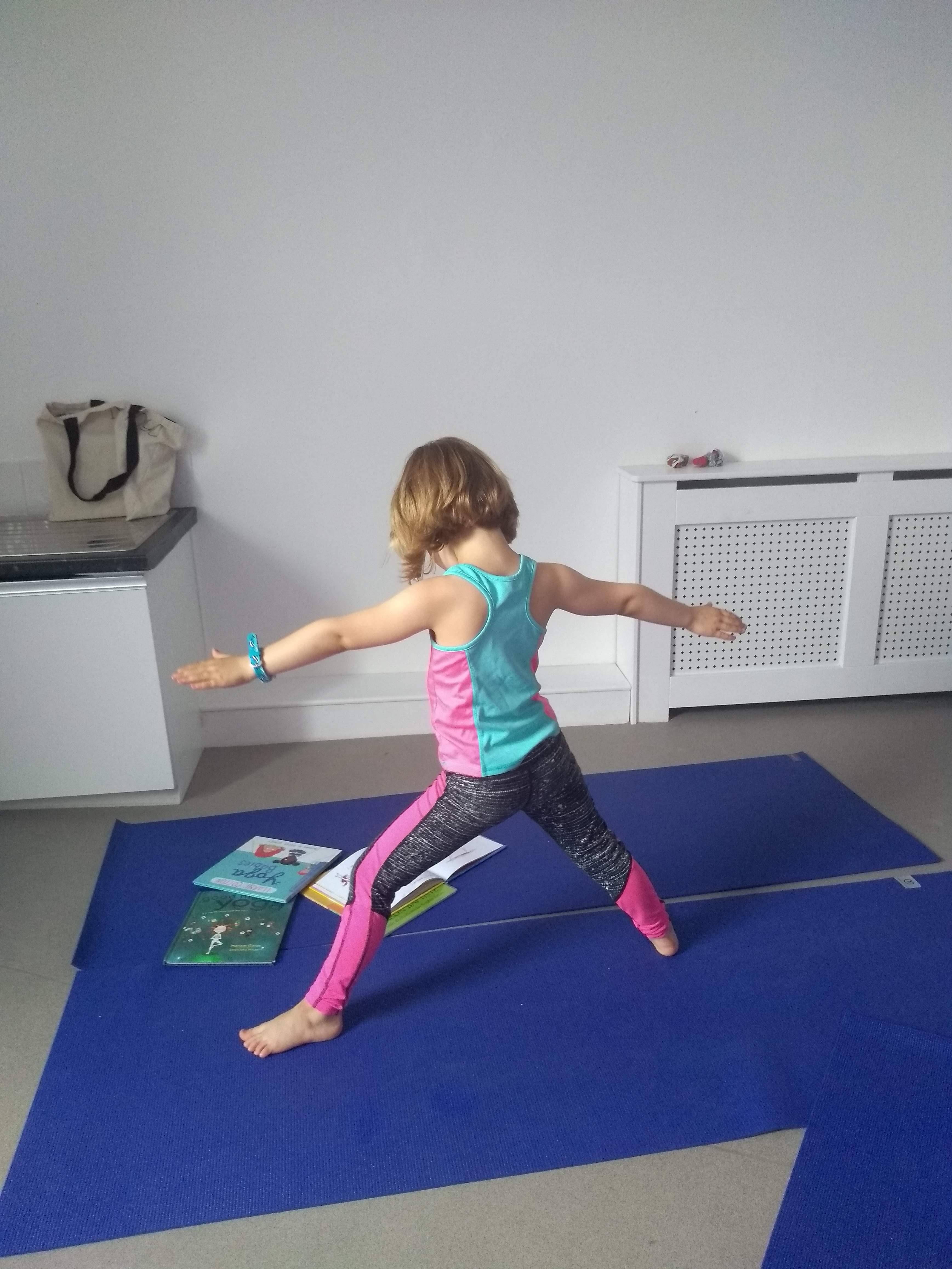 Yoga for kids with KellyAnn in Shipley