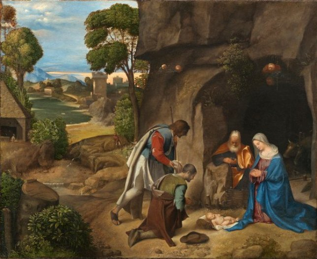 Giorgione, Adoration of the Shepherd, or the Allendale Nativity