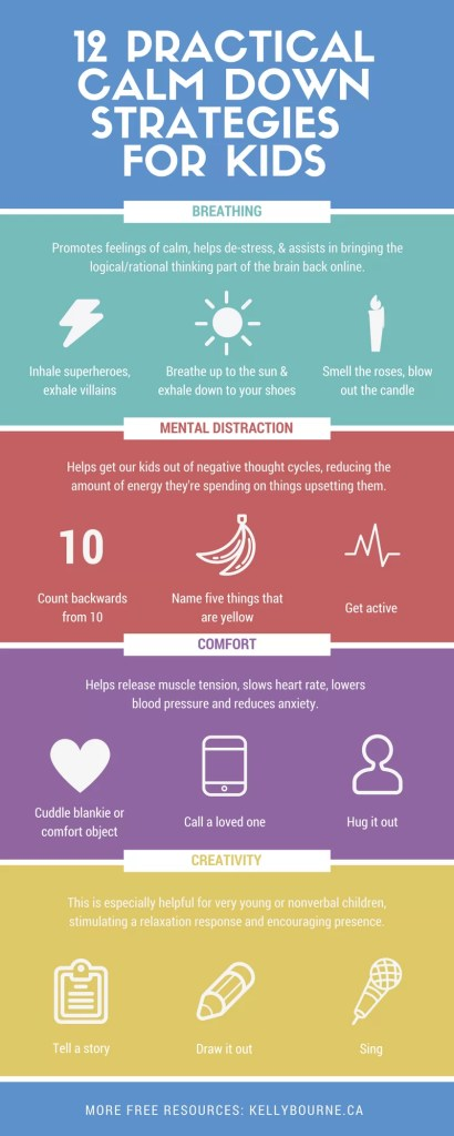 12 Practical Calm Down Strategies for Your Kids