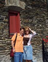 Kelly and Joel in Bacharach