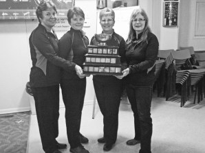 "The Broder - ""A"" Side Winners 2014 - Janet Thompson, Wendy Casselman, Janet Levere, Janet LaPierre"