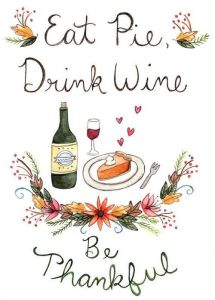Eat Pie Drink Wine