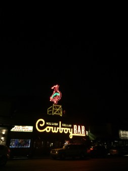 Cowboy Bar - downtown Jackson
