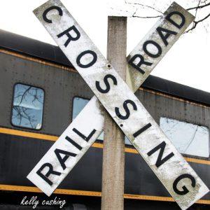 Fort Langley Train Crossing