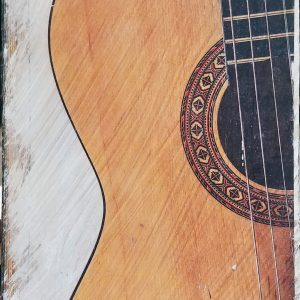 Middle of Guitar Wall Decor by Kelly Cushing