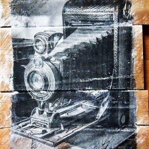 Autographic Camera Wall Decor