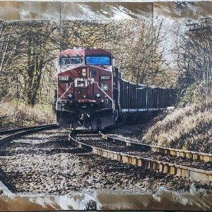 Burnaby Train Wall Decor by Kelly Cushing
