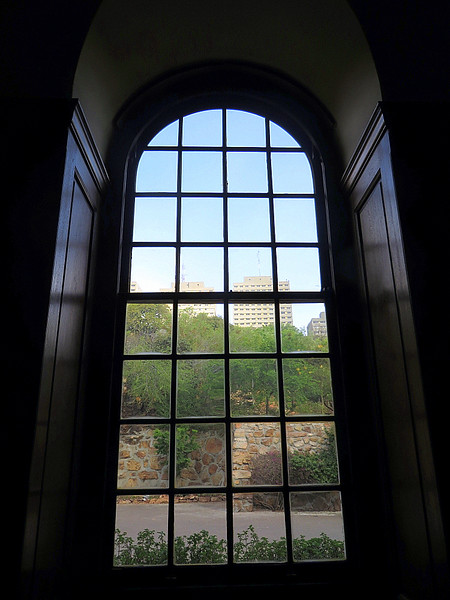 View from Inside the Villa