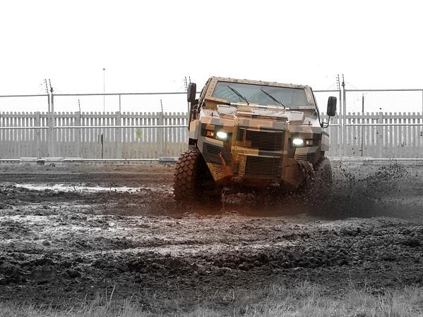 Defence Vehicule Demonstration
