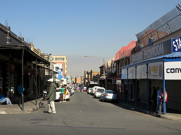 Jeppestown Street View