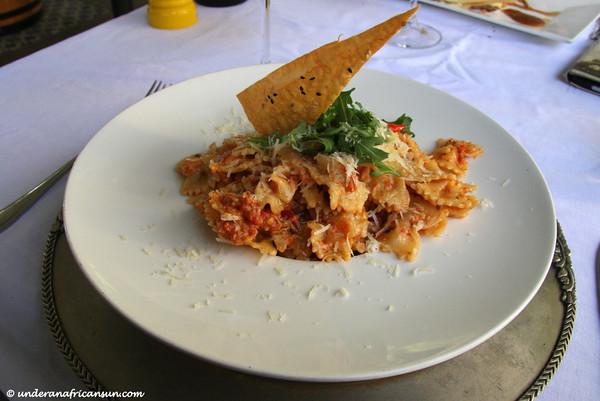 Red Pepper Pesto Pasta