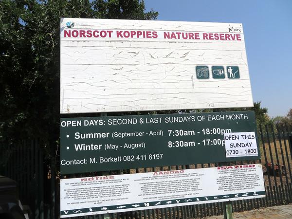 Norscot Koppies Nature Reserve