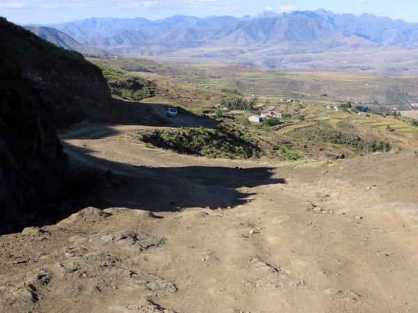 Road to Malealea