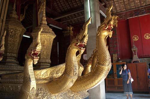 royal funerary carriage, Wat Xieng Thong, Luang Prabang, Laos