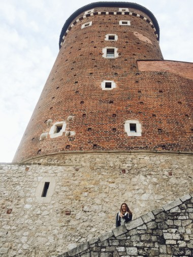 A tower of the Wawel Castle.