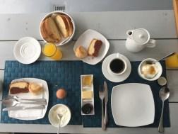 Our hotel Breakfast!