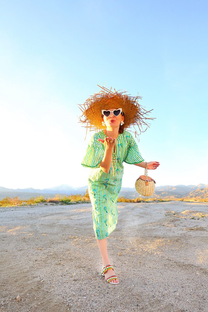 Nimo With Love French 75 Palm Kaftan | Kelly Golightly