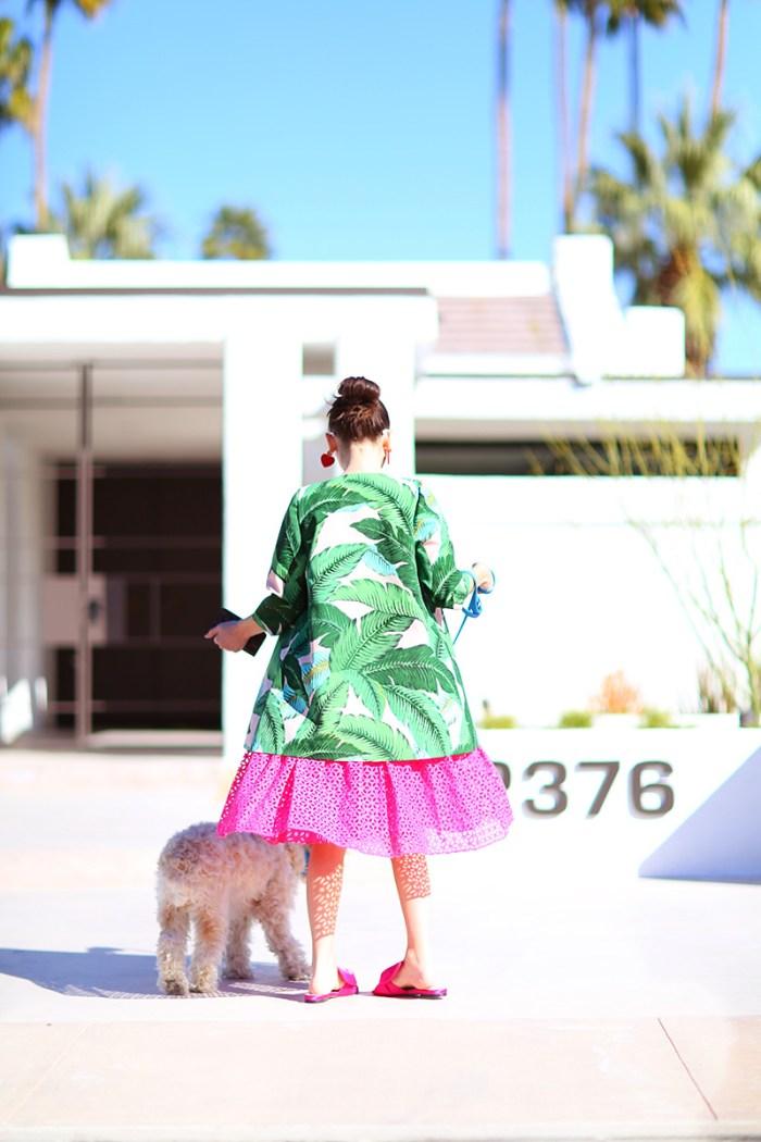 Palm Leaf Coat | Kelly Golightly