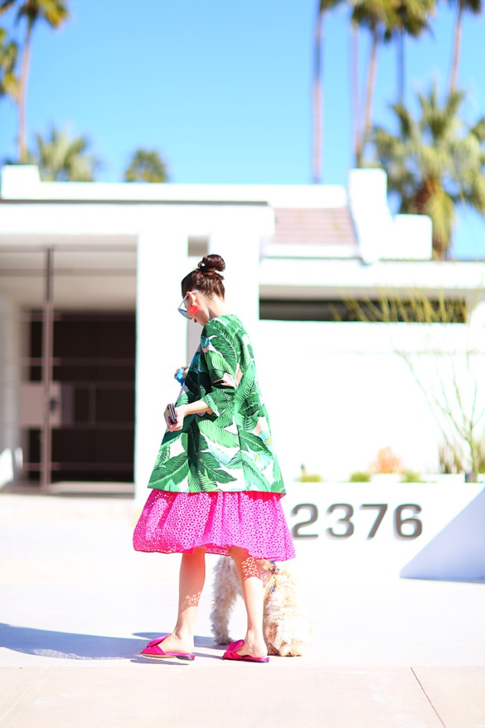 Palm Print Coat | Kelly Golightly