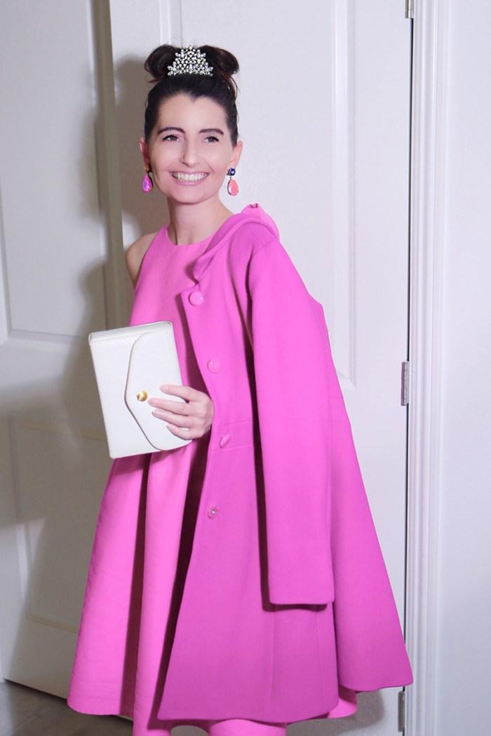 Audrey Hepburn Pink Dress | Kelly Golightly