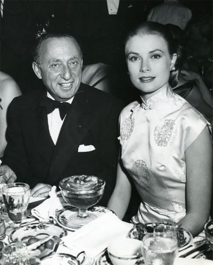 Grace Kelly at The Ambassador Hotel, Golden Globes