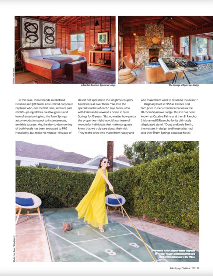 Palm Springs City Guide | Kelly Golightly