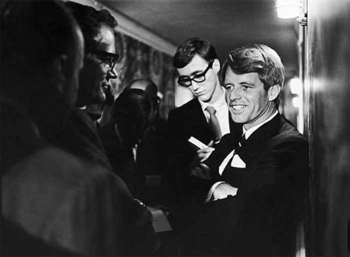 Robert Kennedy at The Ambassador Hotel | Kelly Golightly