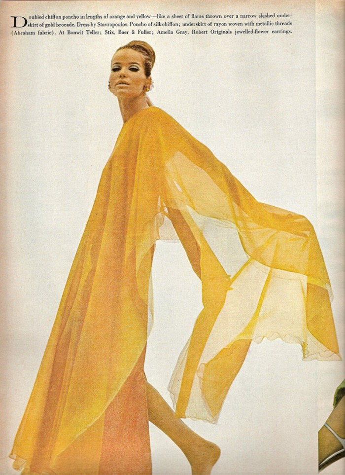 Veruschka in Vogue, February 1966   Kelly Golightly
