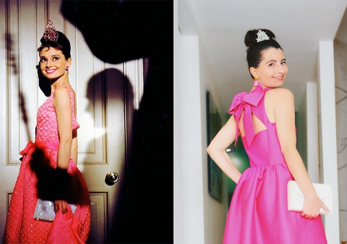 Where To Find Holly Golightly's Pink Dress | Kelly Golightly