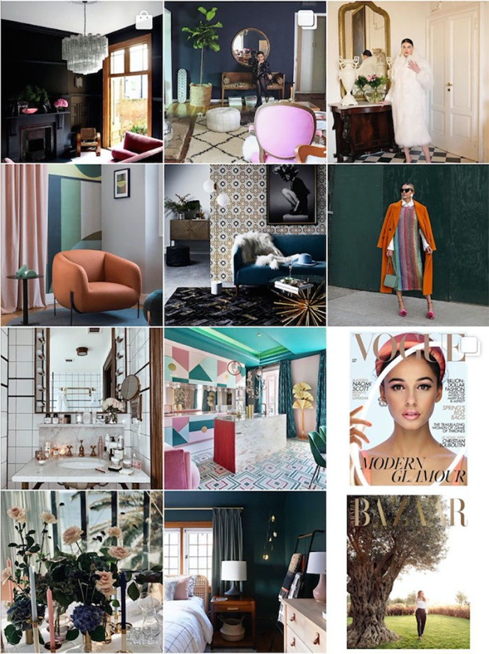Office Makeover Moodboard | Kelly Golightly