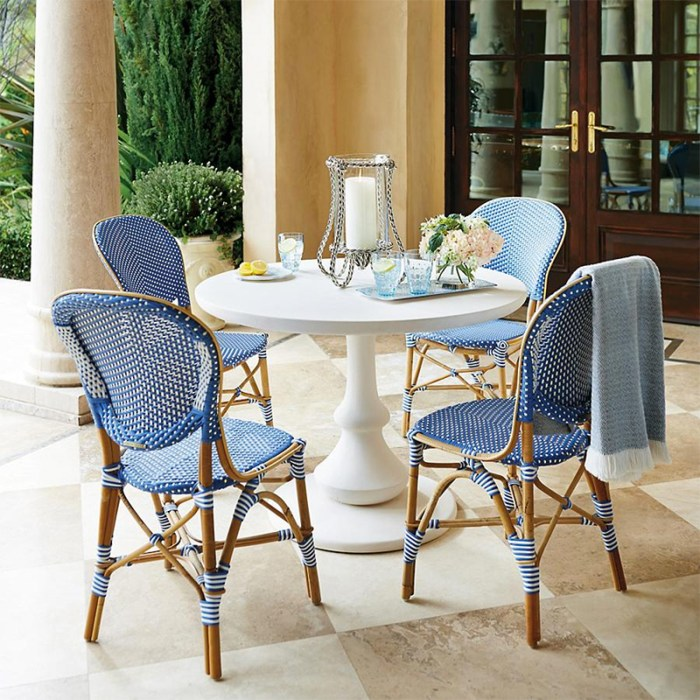 Paris bistro chairs