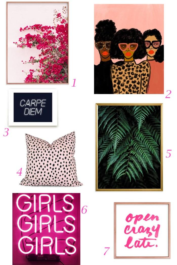 Pink Art & Accessories