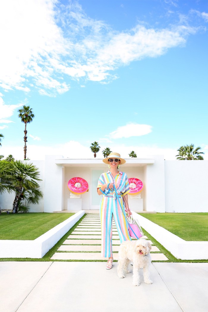 Gray Malin x Splendid Candy Striped Collection | Kelly Golightly