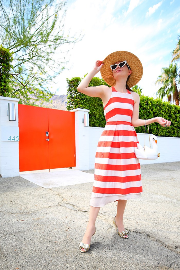 How to Style a Striped Dress | Kelly Golightly