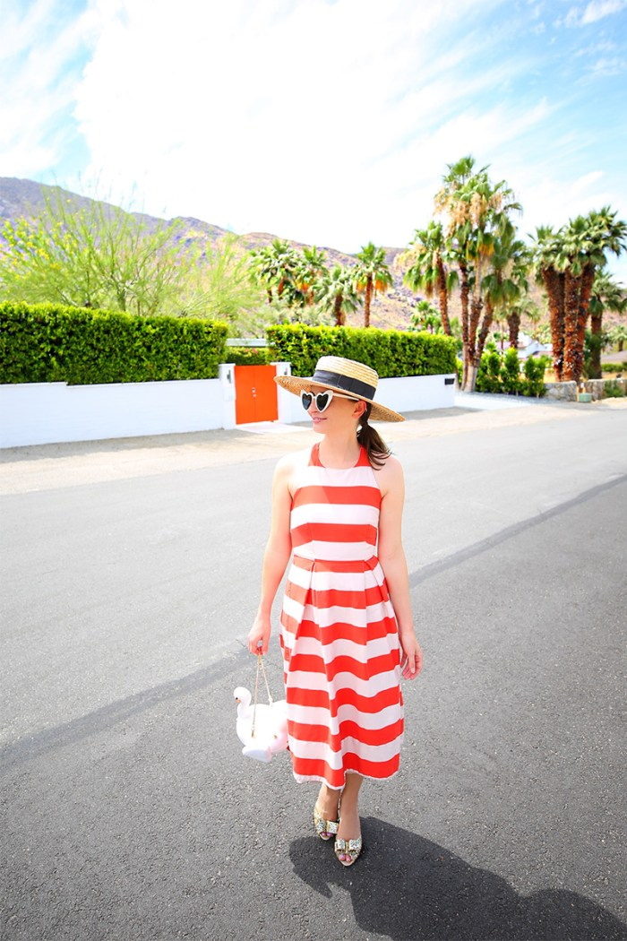 How to Wear a Striped Dress for Summer | Kelly Golightly
