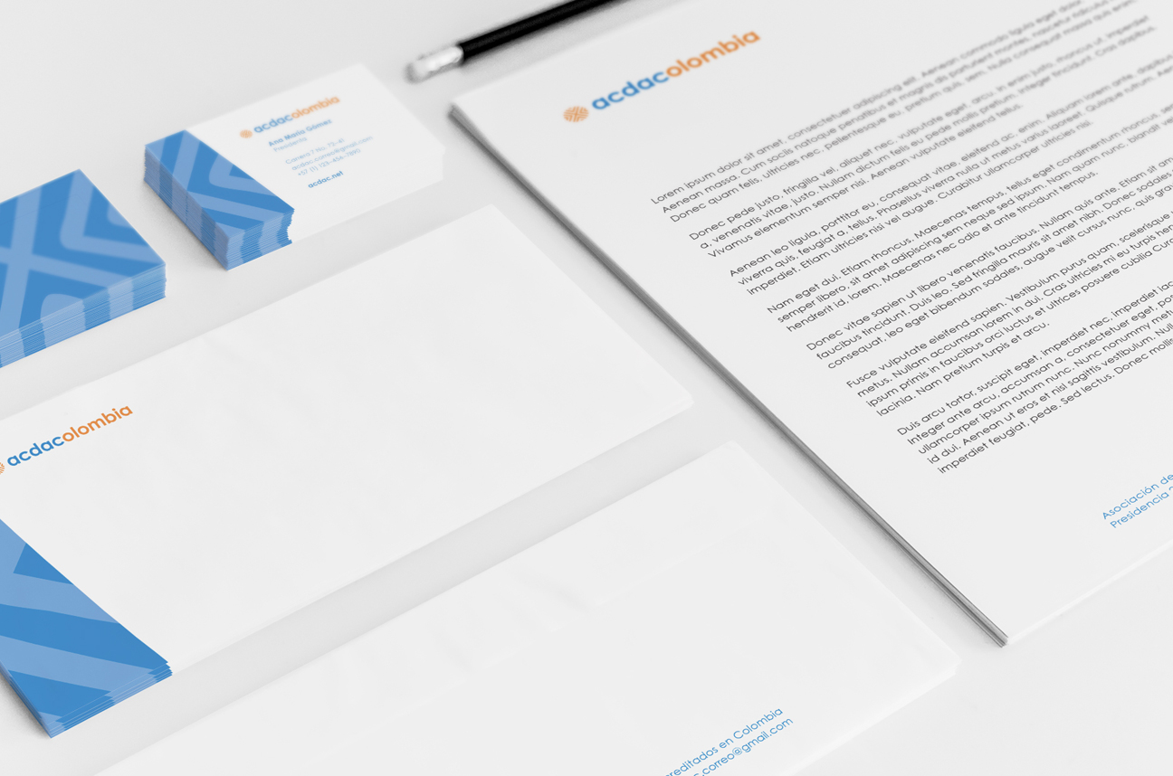 ACDAC Colombia letterhead
