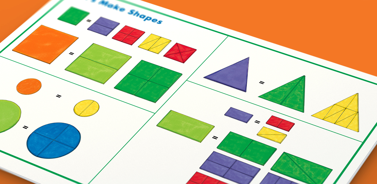 Mix & Make Shapes Booklet