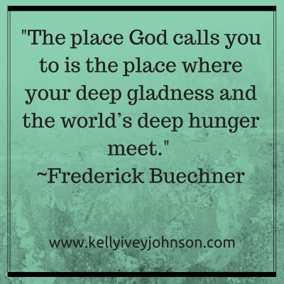 Calling: Deep Gladness Meets Deep Hunger