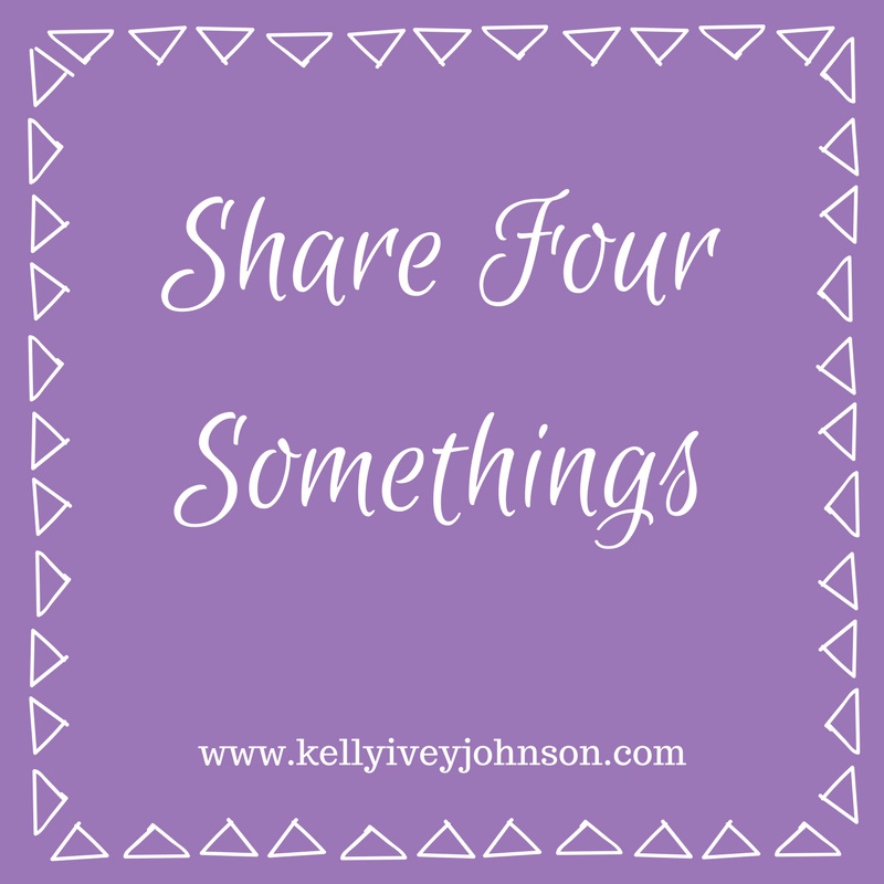 Share Four Somethings- February