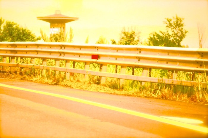 Highway near Venice Italy