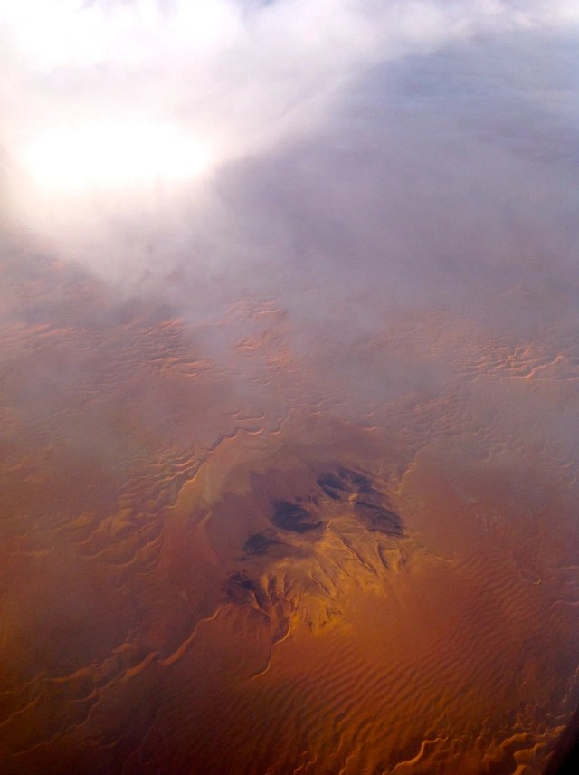 The Sahara Desert Beneath the Clouds