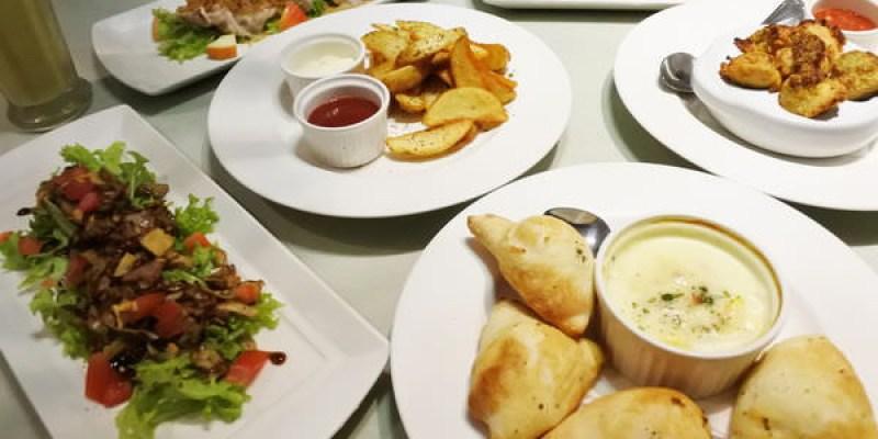 【台南遠百】平價美味超值套餐「義式屋古拉爵」派對套餐開胃料理/經典料理/大湯/比薩/甜點飲料,滿足你的味蕾!