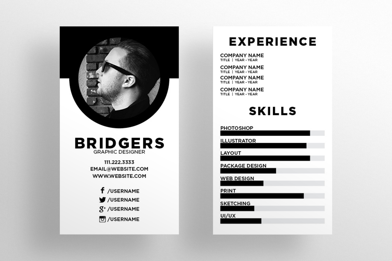 resume business card template volumetrics co