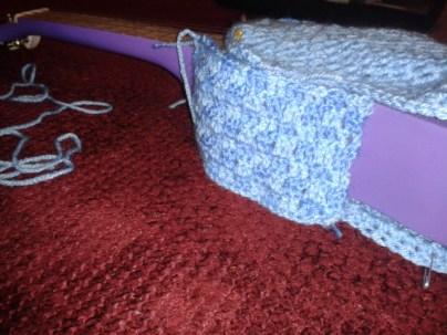 checkerboard crochet pattern ukulele case