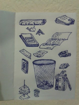 daily drawing artist sketch project zine illustration