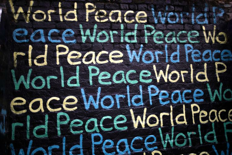 world peace words