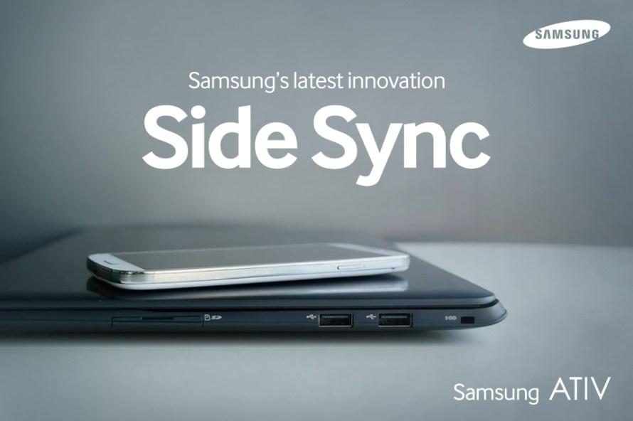 SideSync Window Image