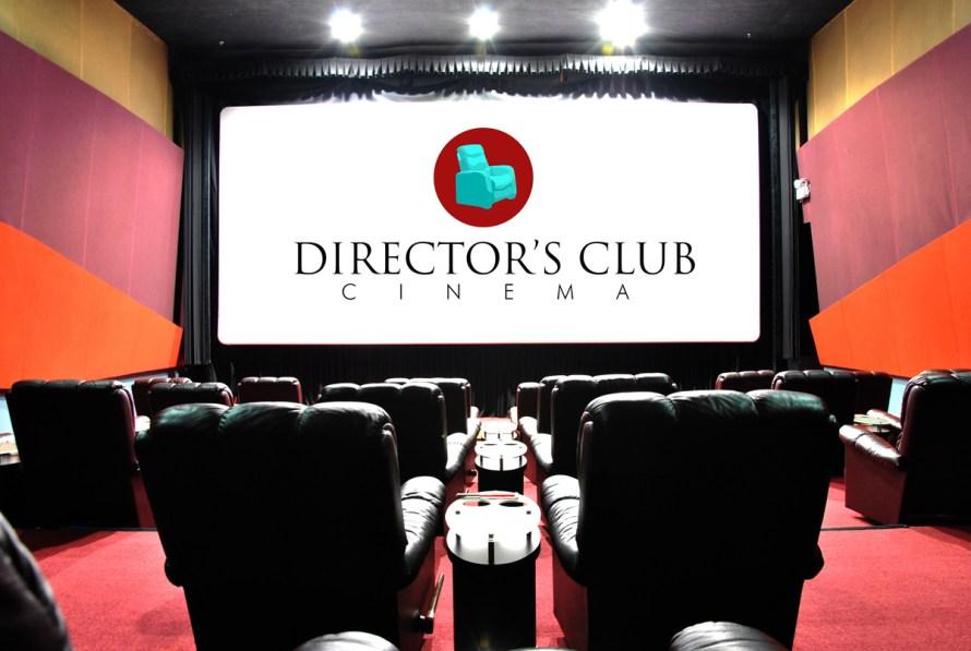 director's club super imposed logo
